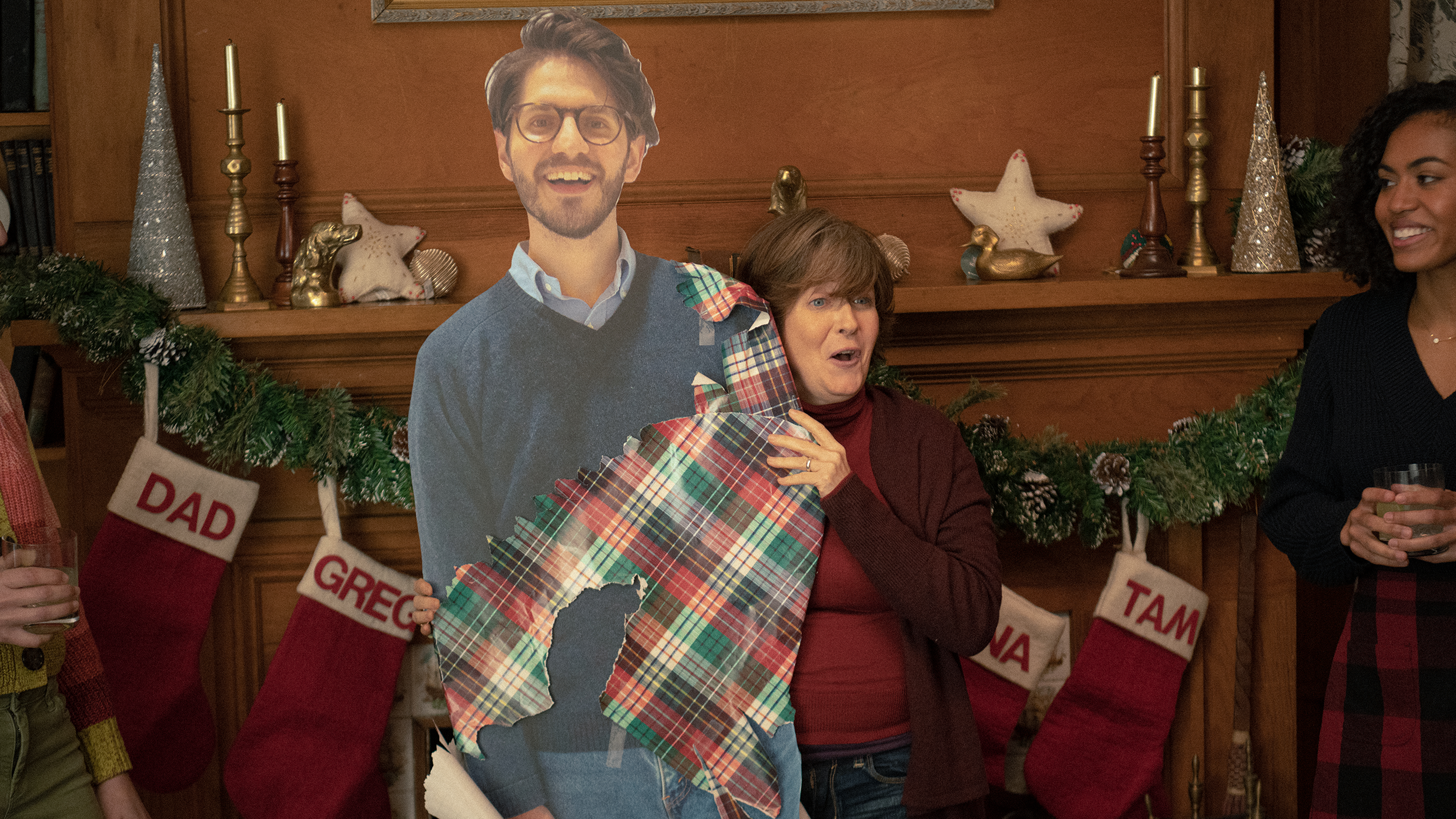 Can't visit family for the holidays? Send them a cardboard cutout of yourself