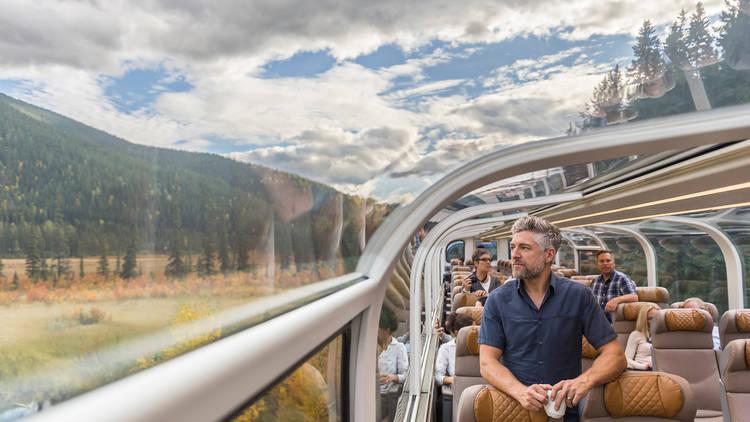 Rocky Mountaineer train ride