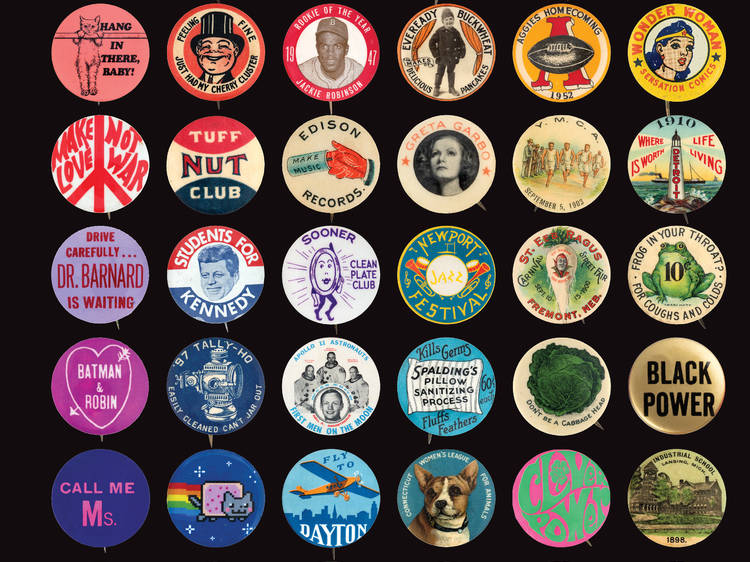 Button Power: 125 Years of Saying It with Buttons ($25)