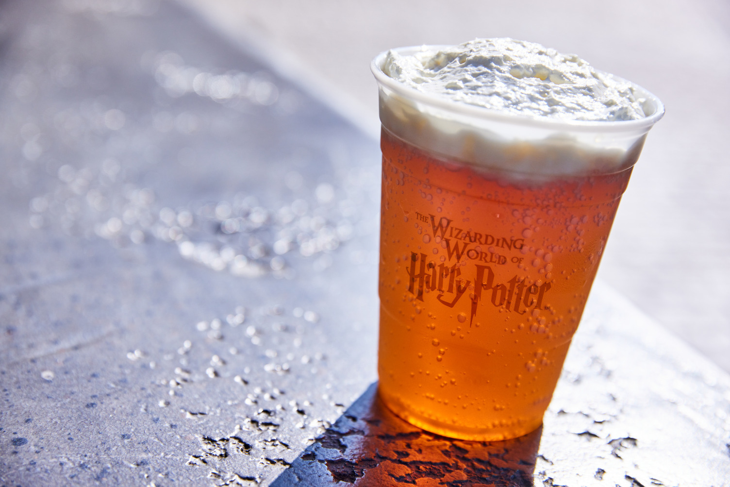 You can pick up Butterbeer for the holidays at Universal's new Harry Potter walk-up sweets shop