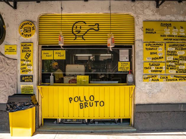 Pollo Bruto, Roma