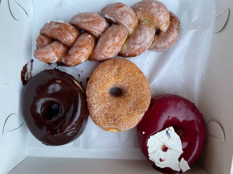 Snack on some sweet treats at Fan-Fan Doughnuts