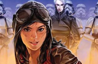 Imagen ilustrada del personaje de Star Wars Doctor Aphra