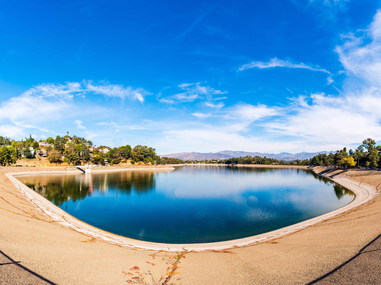 Silver Lake Reservoir, Los Angeles