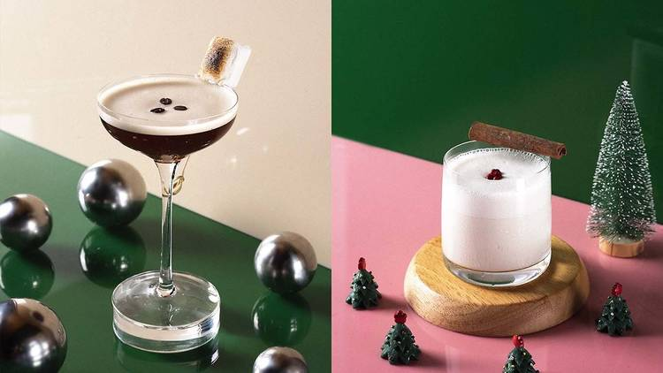Christmas cocktails at Terrible Baby