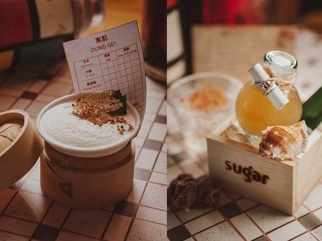 Sugar Hong Kong inspired cocktails