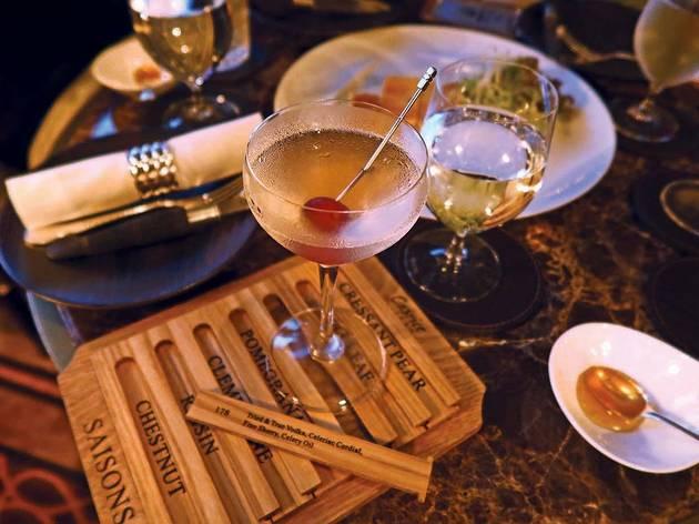 Caprice Bar autumn/winter menu