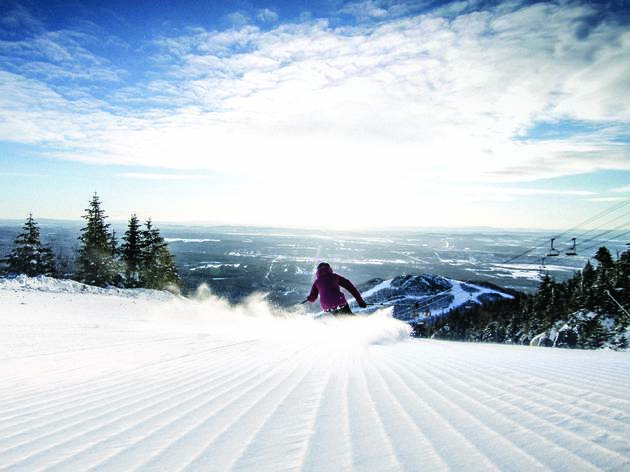 Mont-Orford, skiing, Montreal