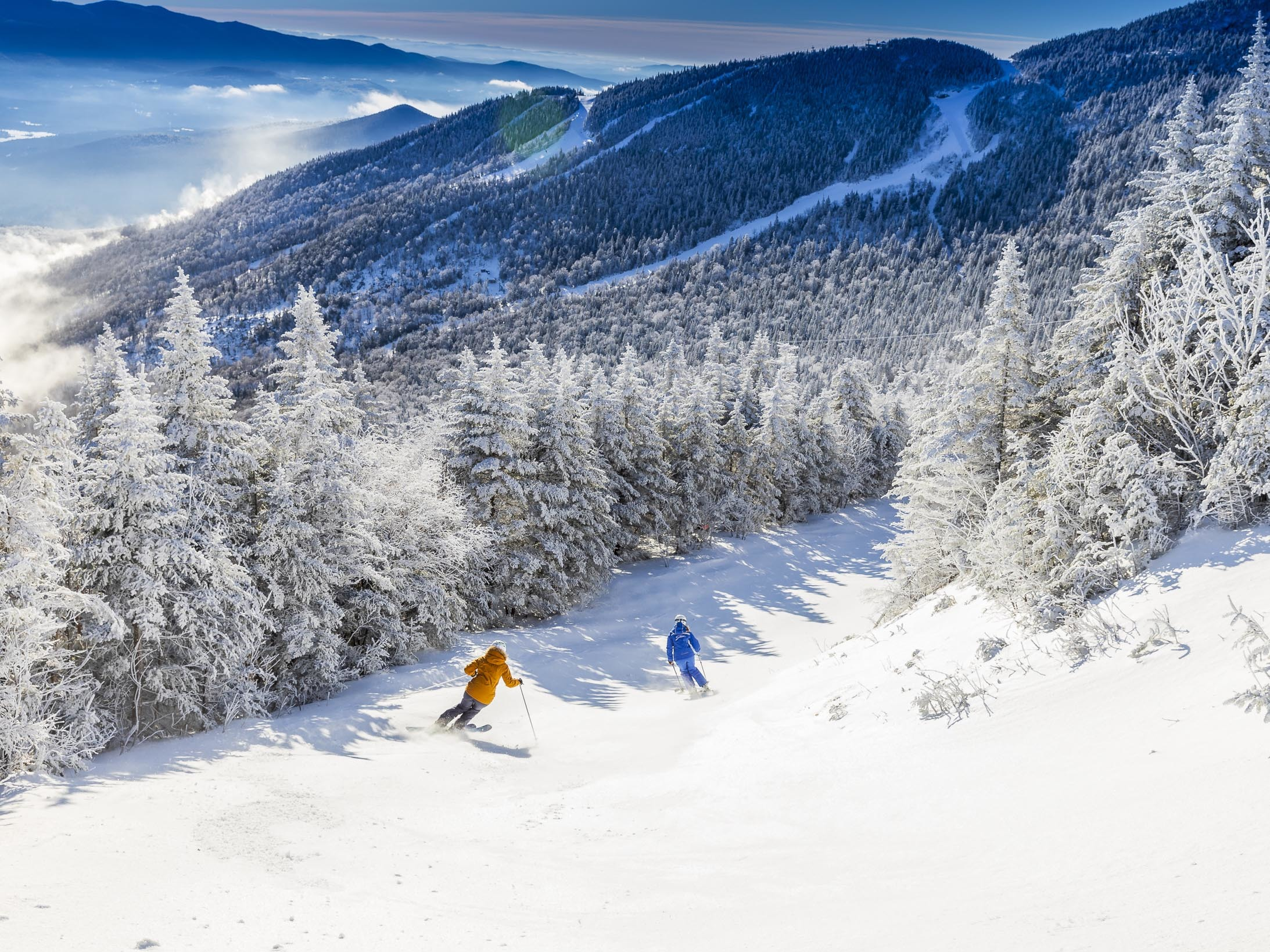 Stowe Mountain Resort, skiing, Montreal