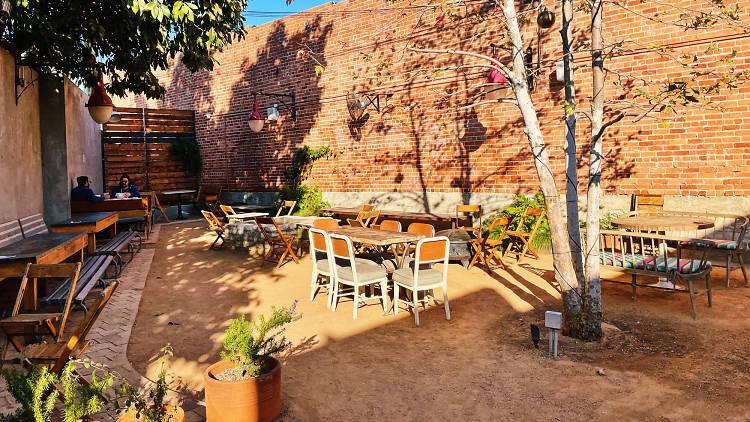 Johnny's West Adams patio