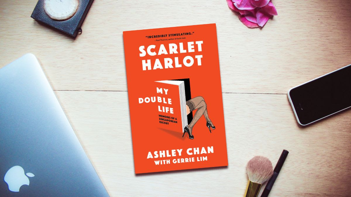 The authors of Scarlet Harlot: My Double Life on being an escort in Singapore