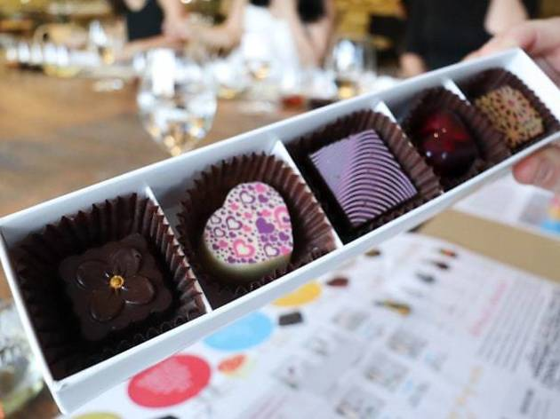Tulloch Chocolate and Wine Tasting Hunter Valley