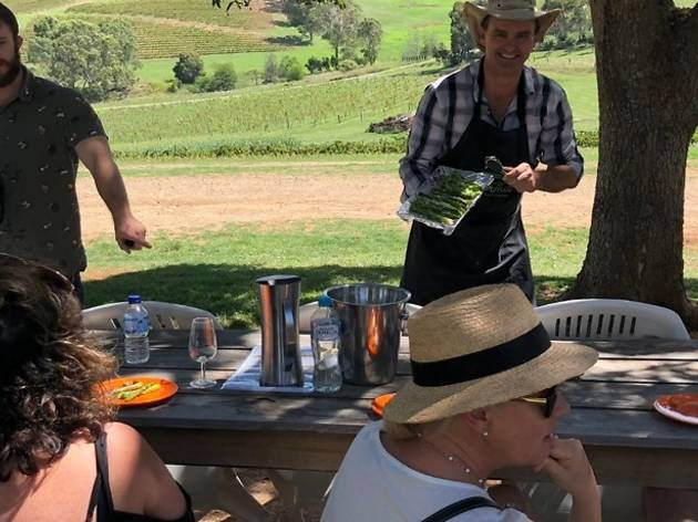 Chef-led food and wine tour