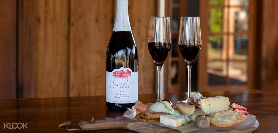 Savannah Estate cheese and wine tasting