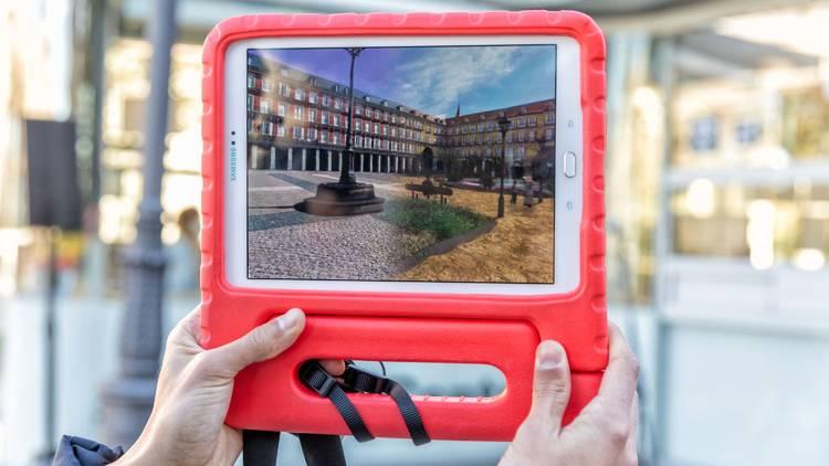Rutas virtuales Madrid