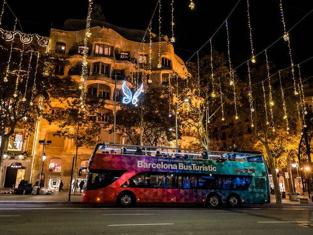 Autobús Barcelona Christmas Tour