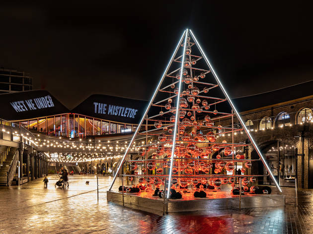 A giant terrarium Christmas tree will light up King's Cross this winter
