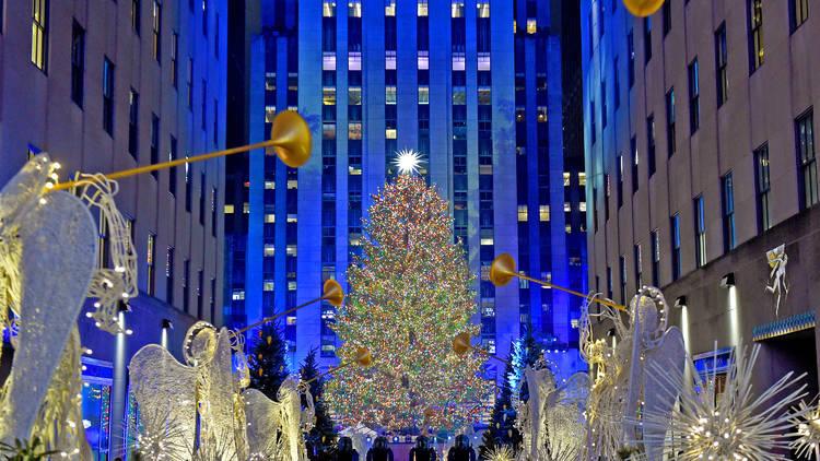 2019 Rockefeller Center Christmas Tree Lighting