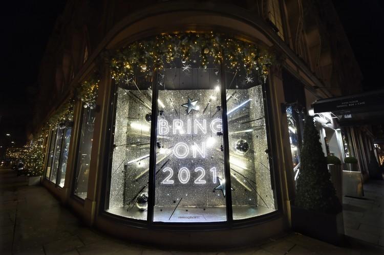 Reviewed: London's Christmas window displays