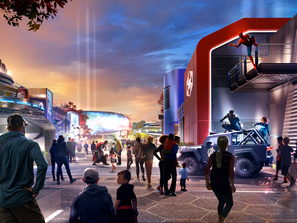 A super-stylish Marvel hotel is coming to Disneyland Paris