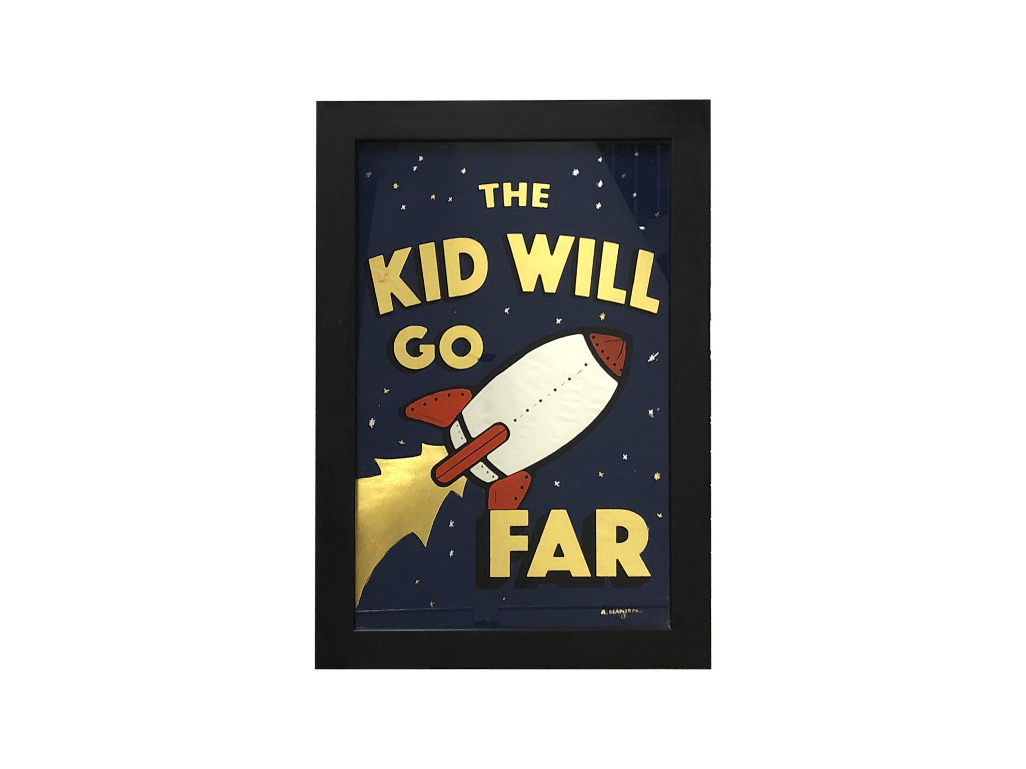 The kid will go far book