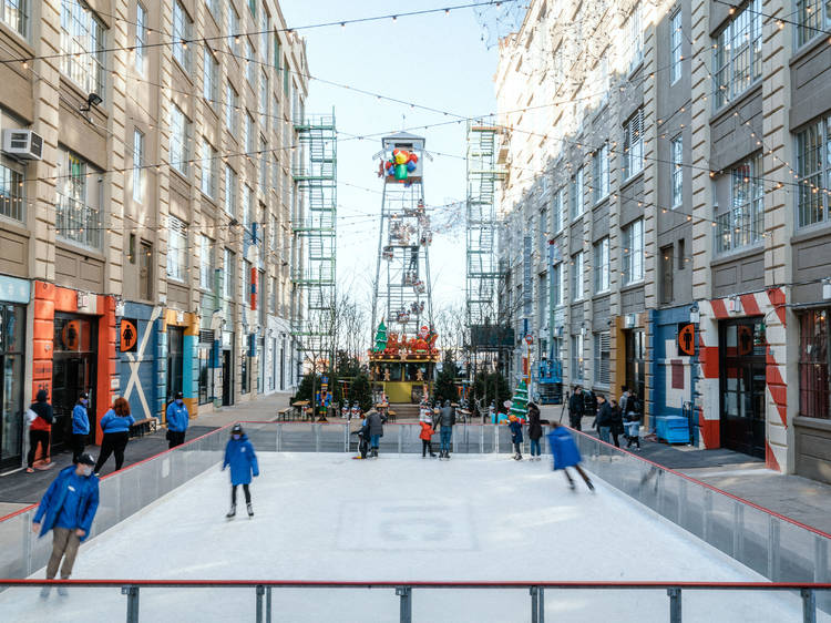 Industry City Ice Rink by Volvo Car USA