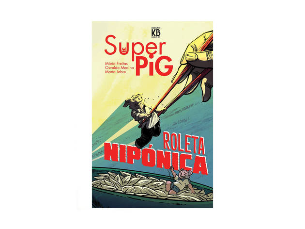 """BD """"Super Pig: Roleta Nipónica"""""""