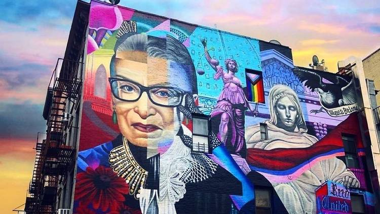 RGB mural