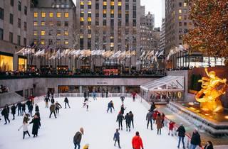The rink at Rockefeller Center
