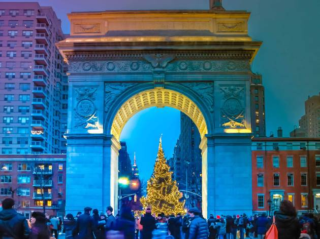 All the twinkling holiday lights you can catch at NYC parks this year