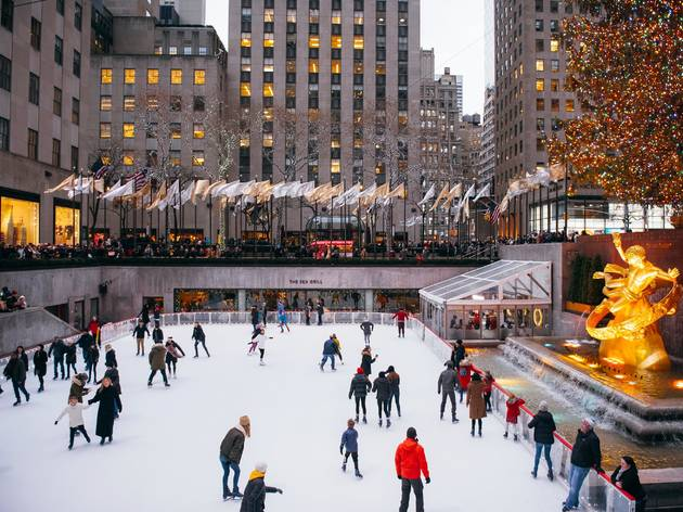 Rockefeller Center, Ice Rink, ice skating