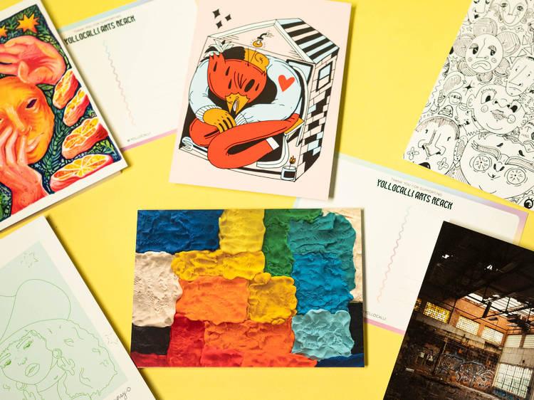 Postcard pack, Yollicalli ($20)
