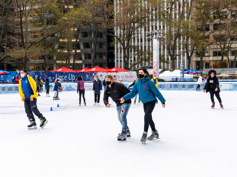 Bank of America Winter Village at Bryant Park Ice Skating