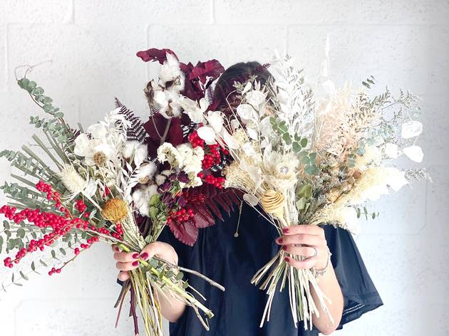 Dried flower subscription from House of Lilac