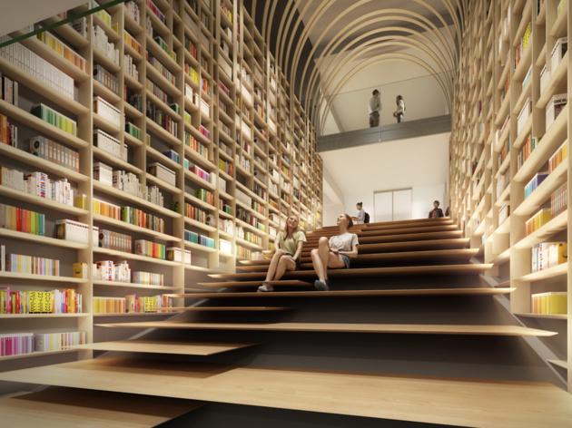 Kengo Kuma Library