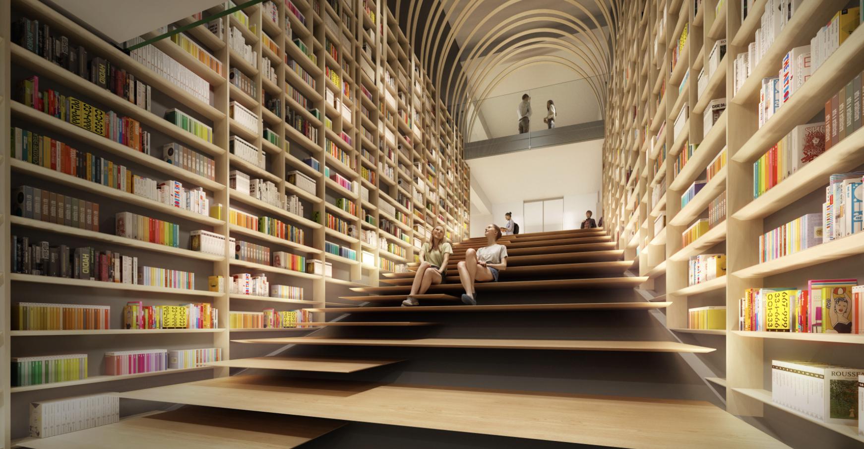 The new Haruki Murakami Library at Tokyo's Waseda University will open in 2021