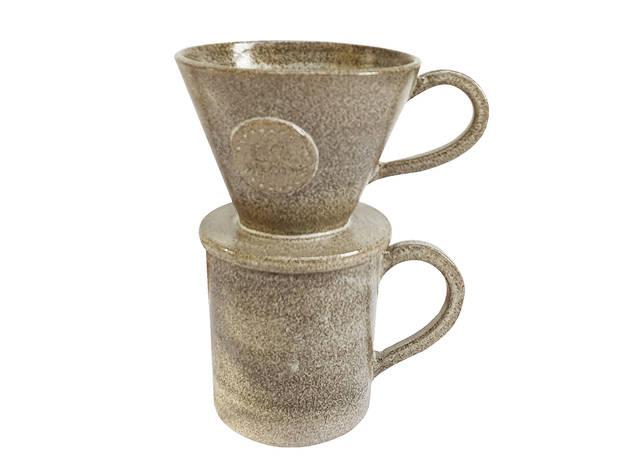 Filter cone and mug by Sofia Ceramics