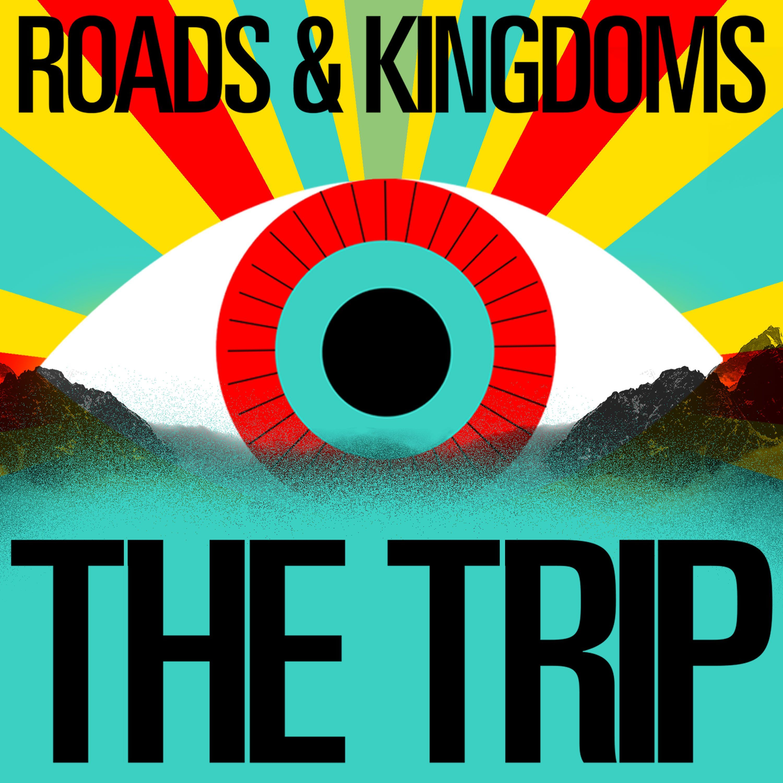 Roads & Kingdoms: The Trip podcast logo