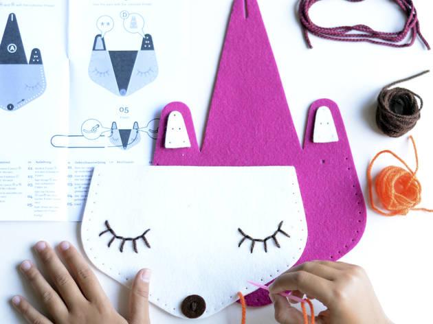 Kit de costura infantil d'Apunt BCN