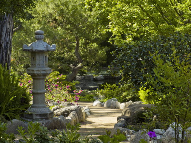 Los Angeles, California, Storrier Stearns Japanese Garden, Pasadena
