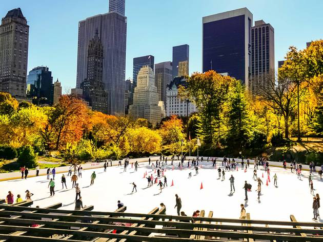 Ice Skating, Wollman Rink, Central Park
