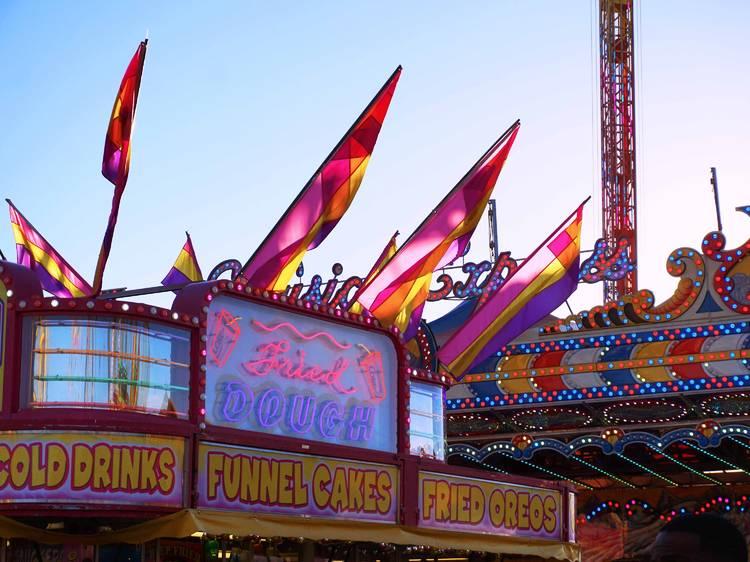 The Orange County Fair's Holiday Lights Spectacular