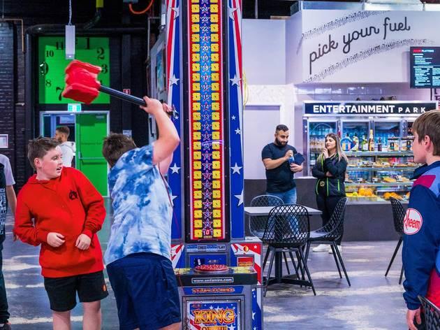 Entertainment Park arcade