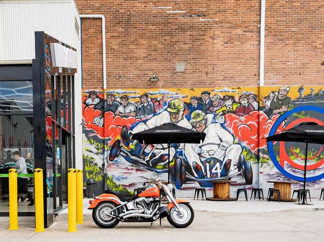 Entertainment Park motorbike exterior