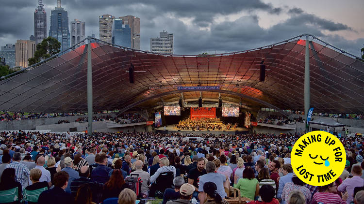Sidney Myer Free Concerts Making Up For Lost Time bubble