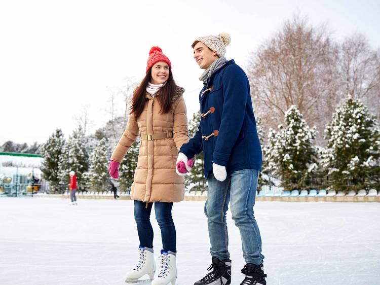 Olympic Park's Les Jeux d'hiver