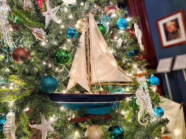 Deering Estate Christmas Lights 2020