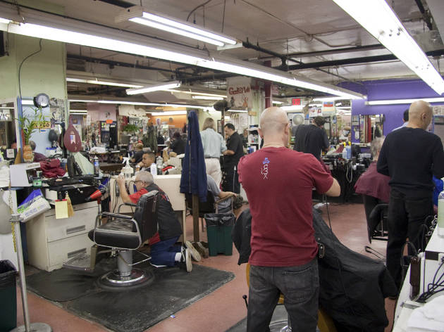 Iconic NYC barbershop Astor Place Hair has been saved from closing