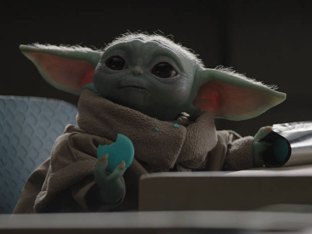 You can snack like Baby Yoda with these official new 'Mandalorian' macarons