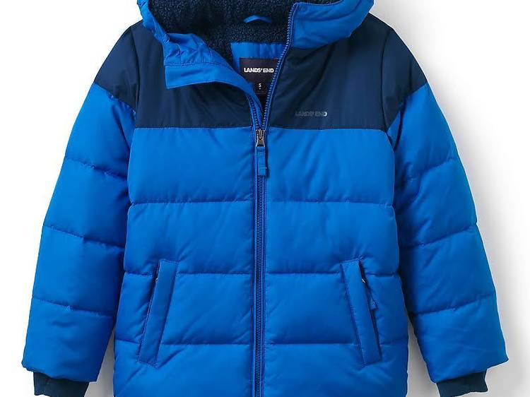 Boys ThermoPlume Fleece Lined Parka from Lands' End